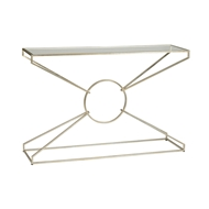 Wildwood Home Emery Console Table - Silver