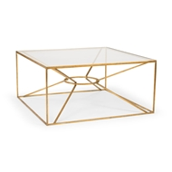 Wildwood Home Emery Cocktail Table - Gold