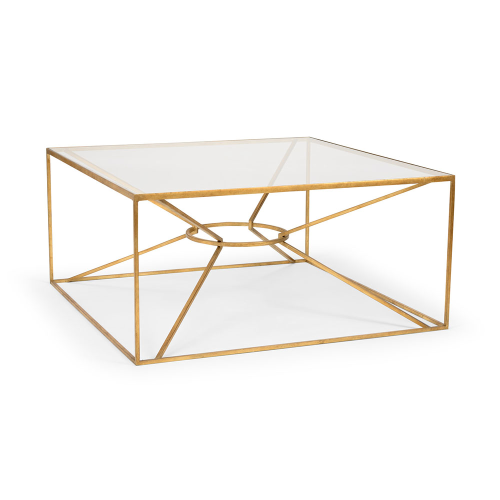 Wildwood Home Emery Cocktail Table - Gold 490101 Iron