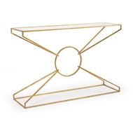 Wildwood Home Emery Console Table - Gold