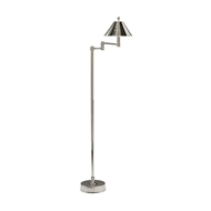 Wildwood Lighting Ashbourne Floor Lamp - Nickel 60394 Brass