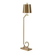Wildwood Lighting Langston Floor Lamp-Brass