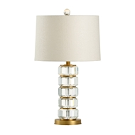 Wildwood Lighting Heston Lamp 65623 Crystal
