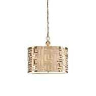 Wildwood Lighting Daphne Pendant-Brass 67045 Metal