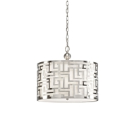 Wildwood Lighting Daphne Pendant-Nickel 67046 Metal