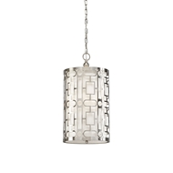 Wildwood Lighting Coco Pendant (Nickel) 67047 Pierced Metal - Nickel Finish