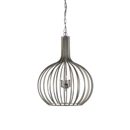 Wildwood Lighting Abella Pendant 67066 Pewter Finished Iron