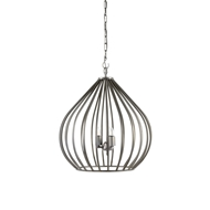 Wildwood Lighting Camille Pendant 67067 Black Finished Iron