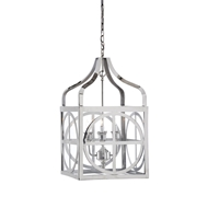 Wildwood Lighting Sherman Lantern - Nickel 67101 Nickel