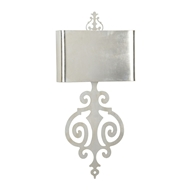 Wildwood Lighting Lucia Sconce - Silver 67139 Iron