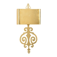 Wildwood Lighting Lucia Sconce - Gold 67140 Iron