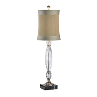 Wildwood Lighting Fluted Crystal Lamp