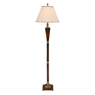 Wildwood Lighting Fluted Floor Lamp 9320 Wood