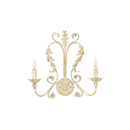 Wildwood Lighting Sconce 9349 Old White On Iron