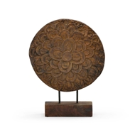 Wildwood Home Floral Disc