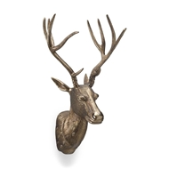 Wildwood Home Deer Park Wall Accent - Brass