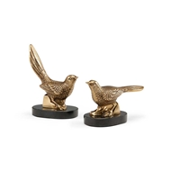 Wildwood Home Plinthed Birds (Pair)
