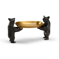 Wildwood Home Bears Bearing Dish