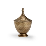 Wildwood Home Fig Cannister - Bronze (Med)