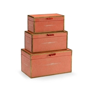 Wildwood Home Cousteau Boxes - Coral 301058