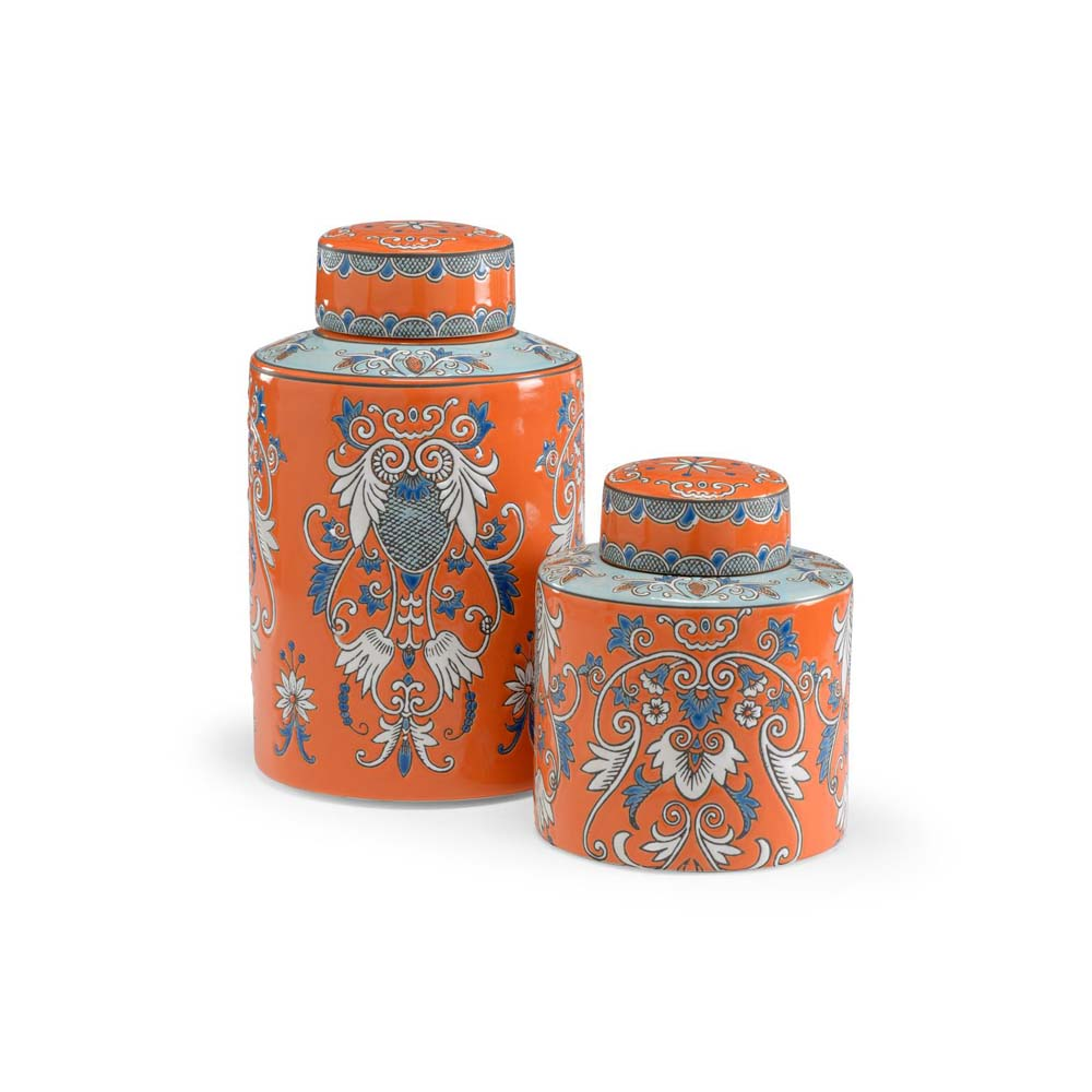 Wildwood Home Persimmon Canisters 301071