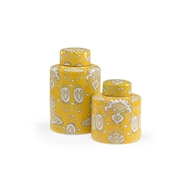 Wildwood Home Yellow Canisters
