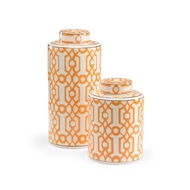 Wildwood Home Orange Canisters