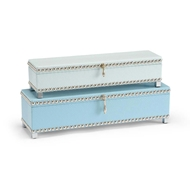 Wildwood Home Treasure Boxes - Blue 301081