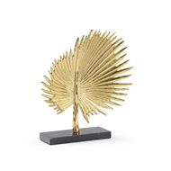 Wildwood Home Fan Palm - Gold 301132