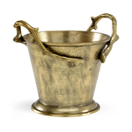 Wildwood Home Blue Ridge Bucket - Brass
