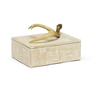 Wildwood Home Antler Box (Sm) 301294