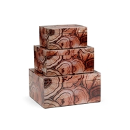 Wildwood Home Burl Boxes (S3)