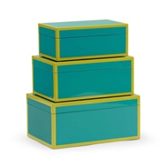 Wildwood Home Lexie Box - Teal (S3) 301324