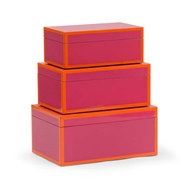 Wildwood Home Lexie Box - Fushia (S3)