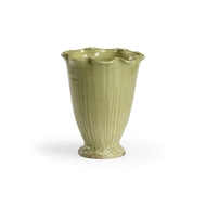 Wildwood Home Fish Net Vase - Kiwi 301451