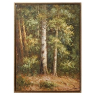 Wildwood Home Into The Woods (Framed Oil) 395057
