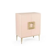 Wildwood Home Maddox Cabinet - Pink 490110