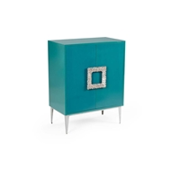 Wildwood Home Maddox Cabinet - Teal