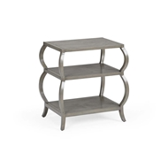 Wildwood Home Kate Tiered Table - Gray 490123