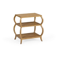 Wildwood Home Kate Tiered Table - Honey 490124