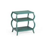 Wildwood Home Kate Tiered Table - Teal 490125