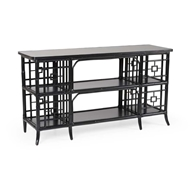 Wildwood Home Alexa Sofa Table - Black 490135
