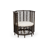 Wildwood Home Angelica Chair - Black Wash