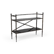 Wildwood Home Alberto Bar Stand - Bronze 490204