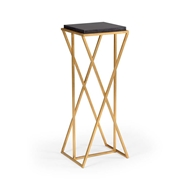Wildwood Home Malcom Pedestal - Gold