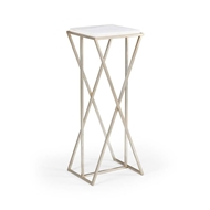 Wildwood Home Malcolm Pedestal - Silver