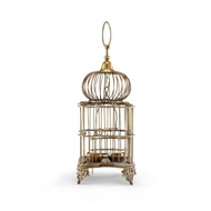 Wildwood Home Bronze Bird Cage