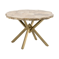 Wildwood Home Betty Table - Small 490302 Petrified Wood