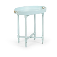 Wildwood Home Borneo Tray Table - Mint 490476 Wood