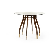 Wildwood Home Davinci Center Hall Table 490214 Wood/Glass